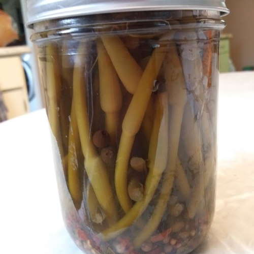 Pickled scapes.